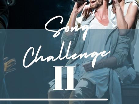 SONG CHALLENGE WEEK 2