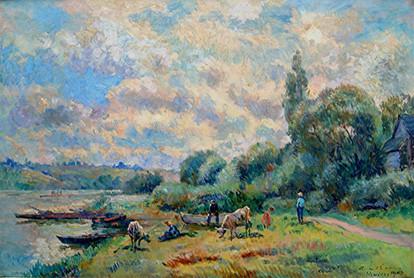 Albert Lebourge painter _bords-de-la-sei