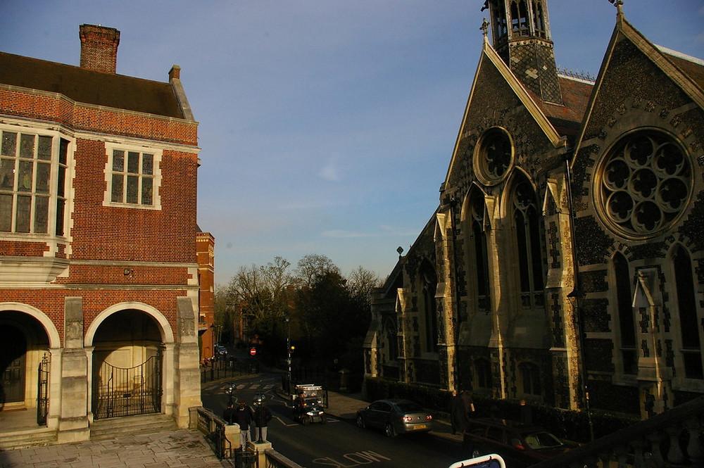 Harrow School London Chapel Sunset