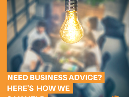 Need business advice? Here's how we can help