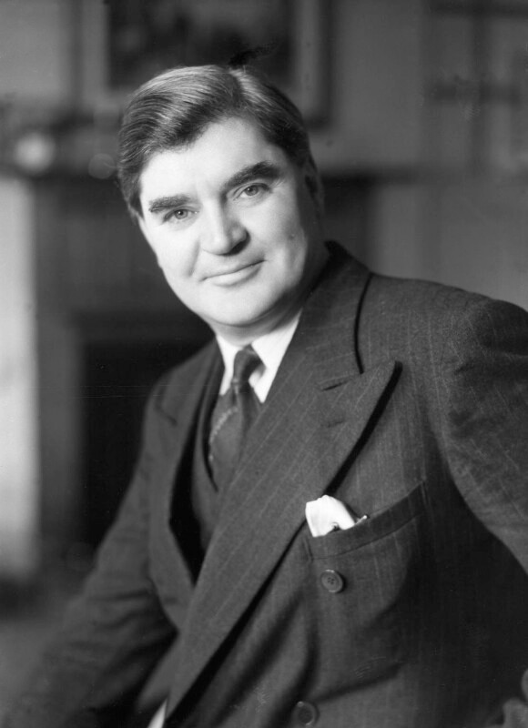 Aneurin Bevin (1897 - 1960), Welsh Labour Party Politician and former Health Secretary