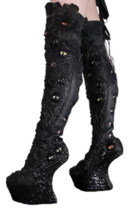 Vale of Tears Thigh High Boots