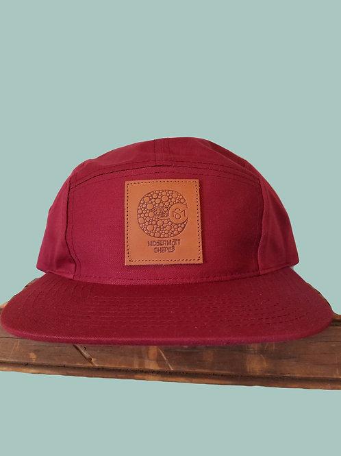 McDermott Shapes Hat Cranberry