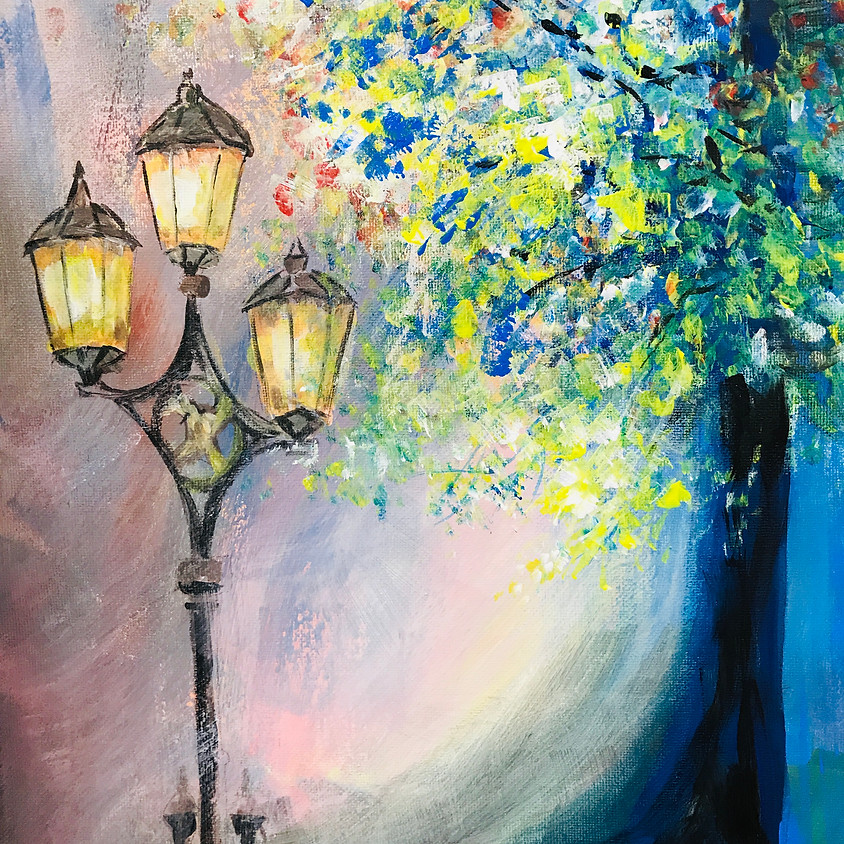 Paint Night - 'The Enchanted Autumn Evening': Friday Nov 8th; 7pm-9:30pm