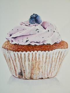 Cupcake - Watercolor