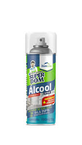 Álcool Aerosol Super Dom 400ml