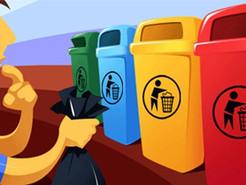 Como escolher a cor adequada dos seus coletores de lixo para a coleta seletiva?
