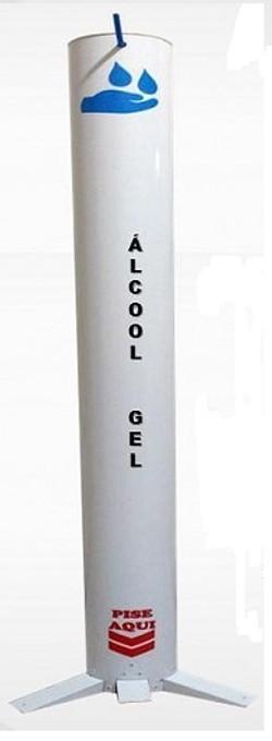 Totem para Álcool em Gel