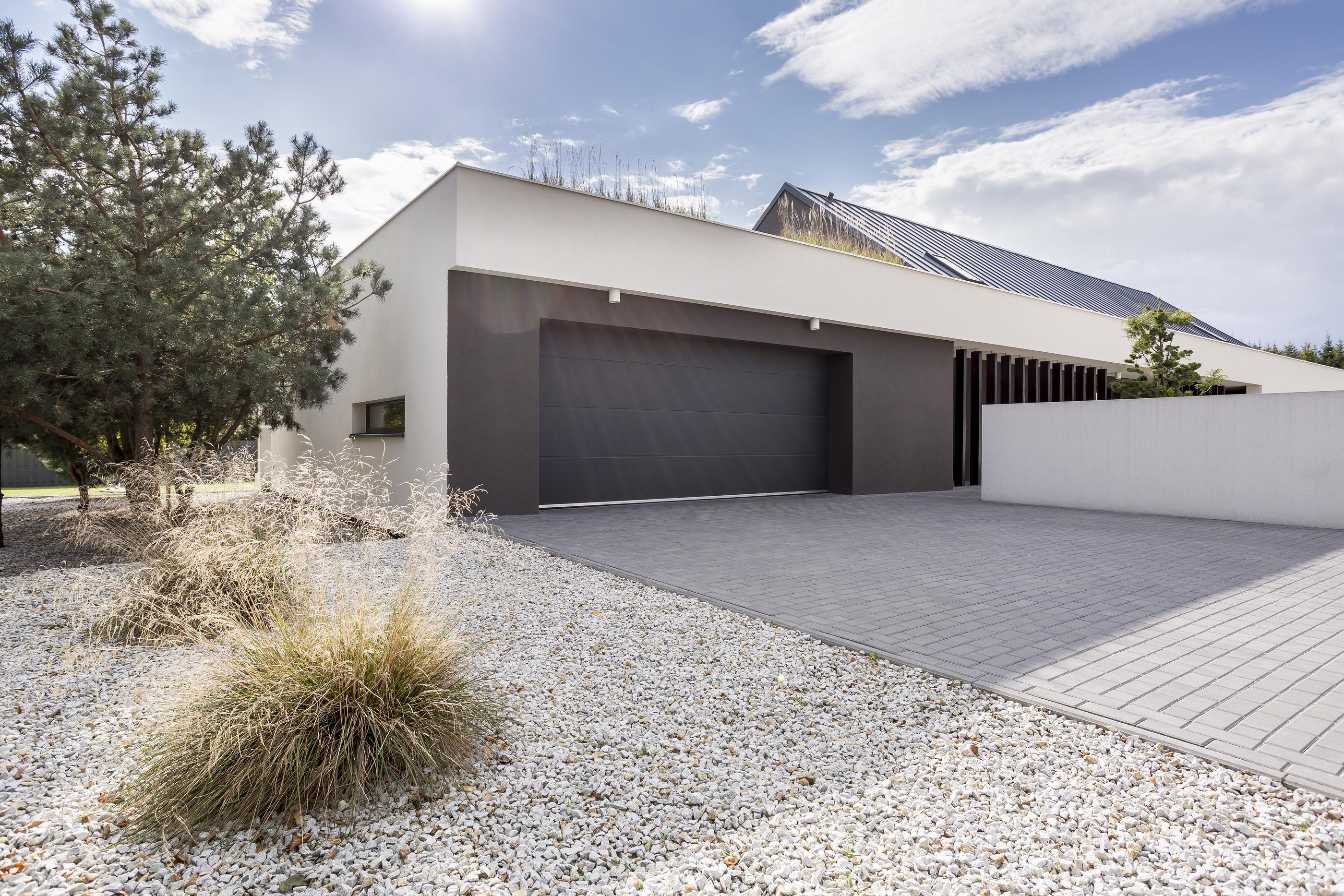 Milestone Homes Grass Roof
