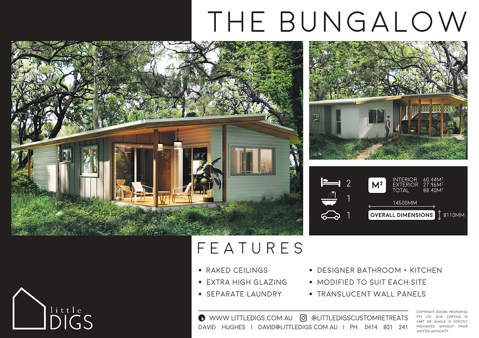 Little Digs Bungalo Small Houe