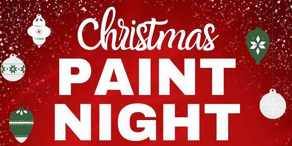 Christmas Paint Night with Sue Lamar