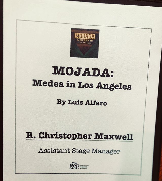 First Day of Rehearsal!!! #mojada #stlou