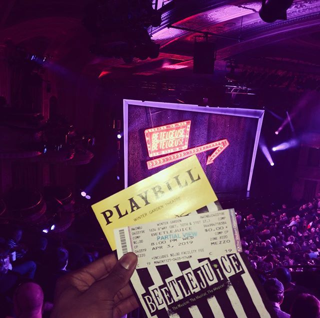 It's Showtime!!!! #beetlejuice #adventur