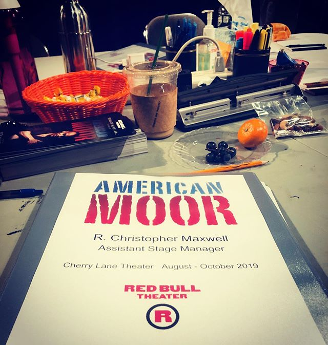 First rehearsal!!! #americanmoor #offbro