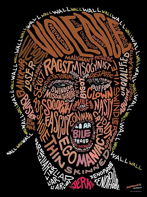 Trump Word Face