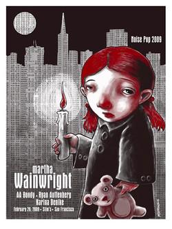 Martha Wainwright - Screen Print