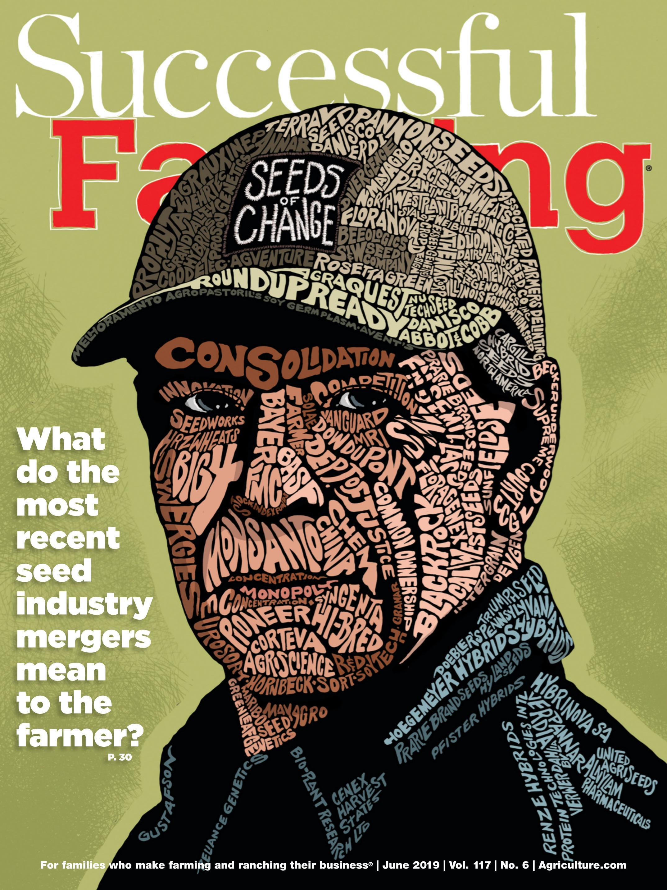 Cover Successful Farming.-June 2019