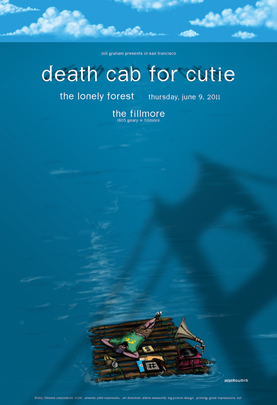 Death Cab For Cutie - Fillmore