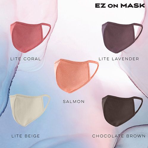 Autumn Collection! 5-Pack facemasks. Anti-pollution, anti-UV. Double layered, br