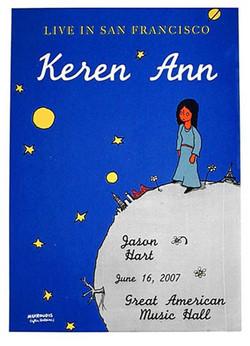 Keren Ann - Screen Print 1