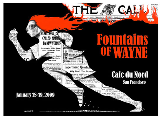Fountains Of Wayne - Screen Print