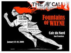 Fountains Of Wayne - Screen Print