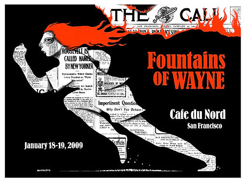 Fountains Of Wayne limited-edition print