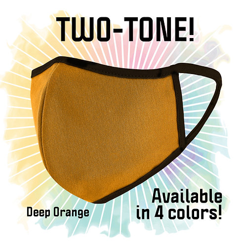 TWO-TONE! DEEP ORANGE!