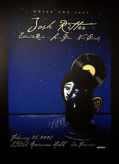 Josh Ritter - Screen Print