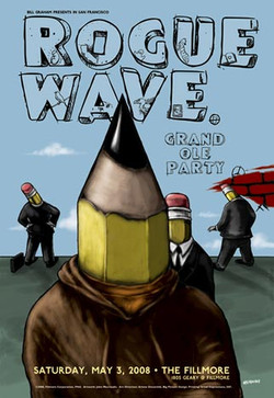 Rogue Wave Fillmore Poster