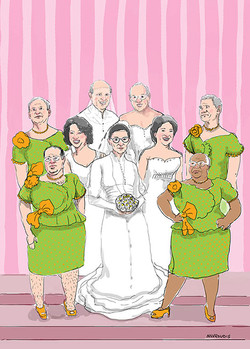 """Always the bridesmaid..."""