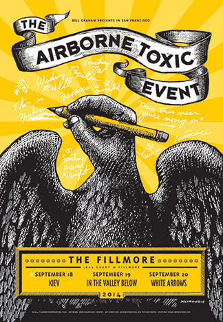 The Airborne Toxic Event - Day 1