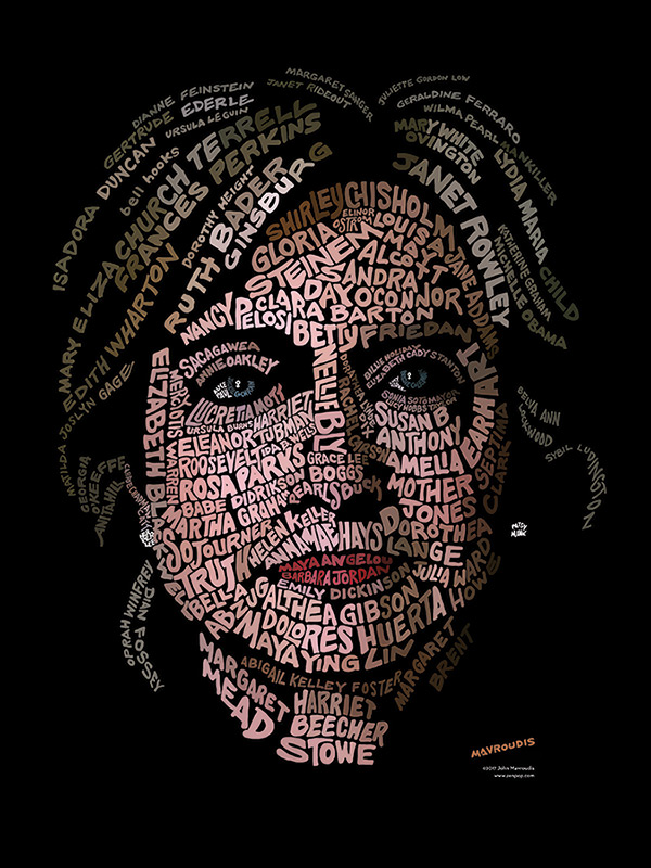 Hillary Clinton Womens Portrait