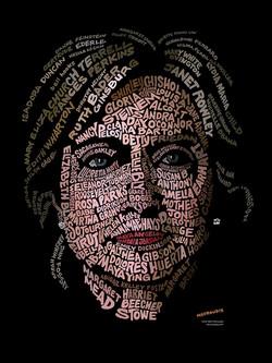 Hillary Clinton Womens Portrait
