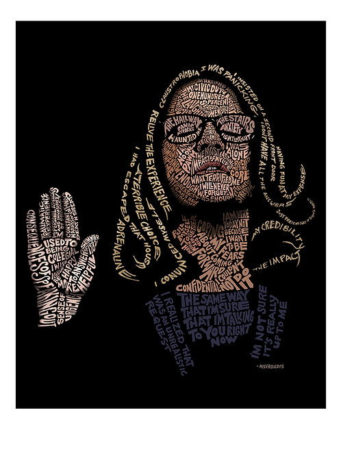 """8.5 x 11"""" Limited-Edition Dr. Blasey Ford Print (TIME magazine cover art)"""