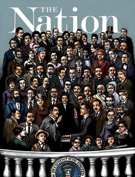 FOR THE AGES: Obama Civil Rights Inaugural Poster