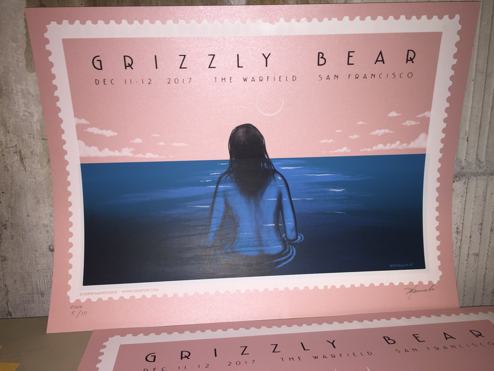 Grizzly Bear - Pink Metallic Variant