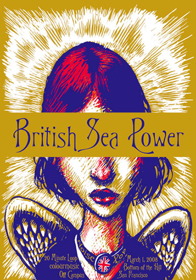 British Sea Power - Screen Print
