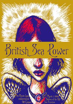 British Sea Power - Screen Print