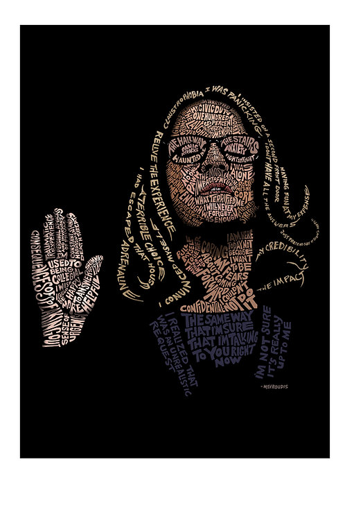"""13x19"""" Limited-Edition Dr. Blasey Ford Print (TIME magazine cover art)"""