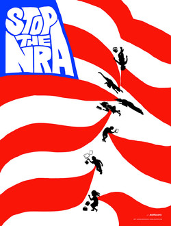 Stop The NRA poster