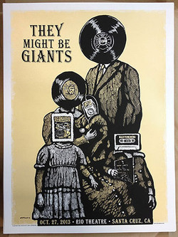 They Might Be Giants - Screen Print