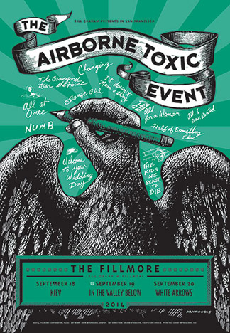 The Airborne Toxic Event - Day 2