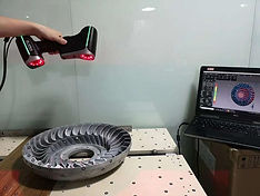 3D scanning a casting