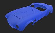 scanned car model