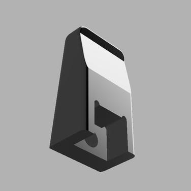 3D Printed Flat Finger