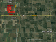 GRUNDY & HARDIN COUNTIES: 298 ACRES M/L