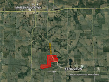 MARSHALL COUNTY: 383 ACRES M/L
