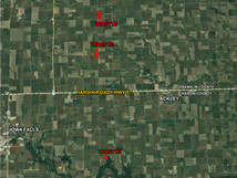 FRANKLIN & HARDIN COUNTIES: 207 ACRES M/L