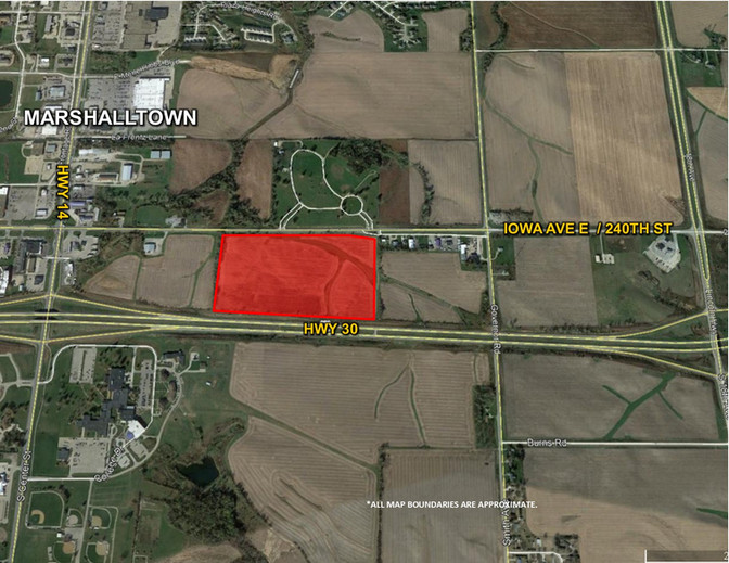 MARSHALL COUNTY: 49 ACRES M/L